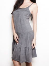 Andie grey summer dress funky muma breastfeeding pregnancy maternity wear