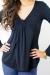 Flyn black top breastfeeding funky muma breastfeeding pregnancy maternity wear