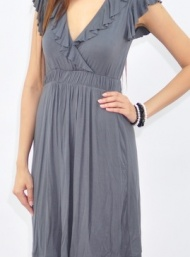 Kate dress maternity funky muma grey