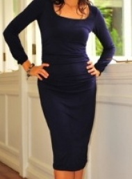 Valencia dress blue maternity wear funky muma-blue