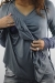 Tigger hoodie breastfeeding maternity funky muma pewter