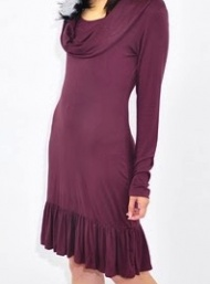 Leticia cowl dress funky muma maternity clothingii