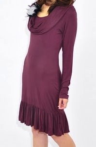 Leticia cowl dress funky muma maternity clothingii