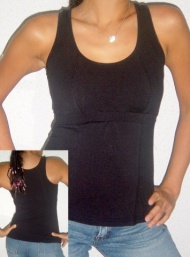 Body tank maternity wear funky muma blackii