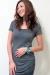 Diana top bamboo nursing grey funky muma breastfeeding pregnancy maternity wear