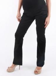 Long trousers black pregnant funky muma breastfeeding pregnancy maternity wear
