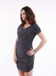 Manhattan mini pewter nursing bamboo funky muma breastfeeding pregnancy maternity wear