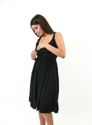 Belle black breastfeed funky muma breastfeeding pregnancy maternity wear