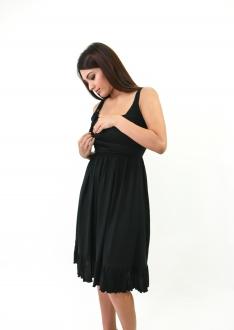 Belle black breastfeed funky muma breastfeeding pregnancy maternity wear