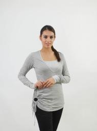 Side keyhole ash nursing funky muma breastfeeding pregnancy maternity wear
