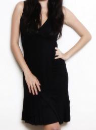 Carmen black dress breastfeed funky muma breastfeeding pregnancy maternity wear