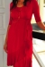 Evita wrap dress breastfeeding and maternity funky muma crimson