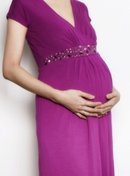 Bianca maxi 2 evening dress magenta pregnant bamboo funky muma breastfeeding pregnancy maternity wear