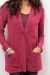 Two tone sweater fuchsia nursing funky muma breastfeeding pregnancy maternity wear
