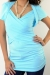 Shrug long tank maternity wear funky muma blue after birth