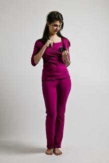 Criss cross pj berry breastfeed funky muma breastfeeding pregnancy maternity wear