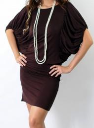 Renee brown dress maternity funky mumaii